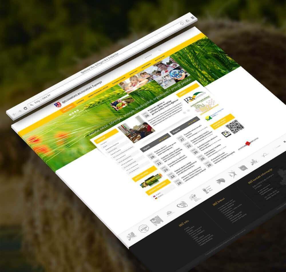 Bjelovarsko-bilogorska županija Web