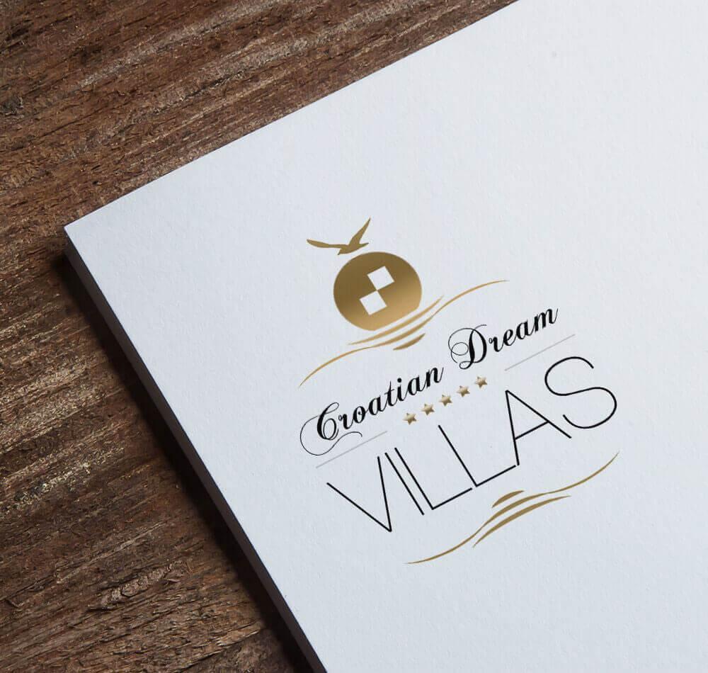 Croatian Dream Villas Logo