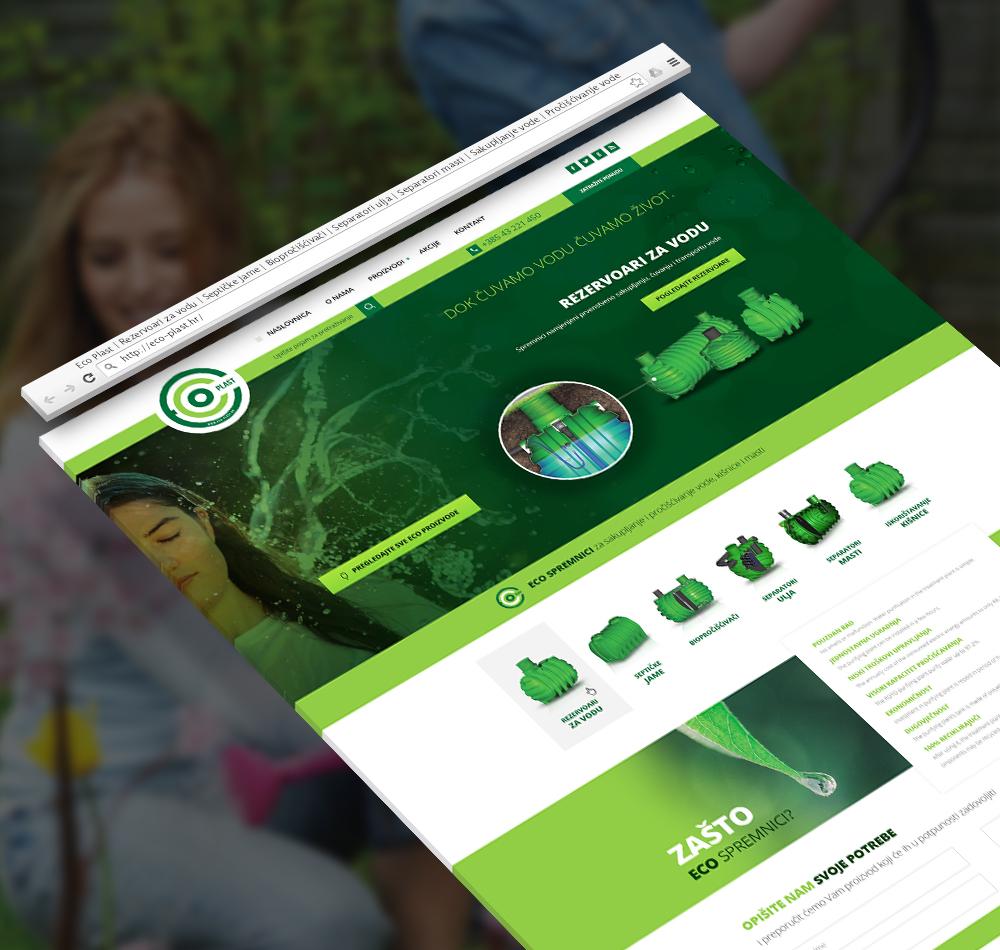 Eco Plast website