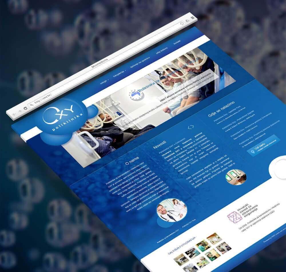 Poliklinika OXY Web