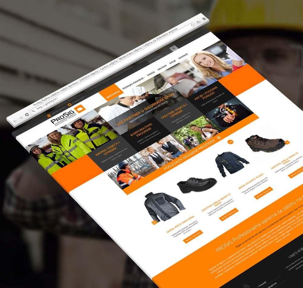 Prosig Webshop