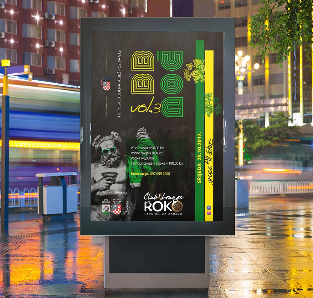 Bjelovarsko-bilogorska noć Web Dizajn
